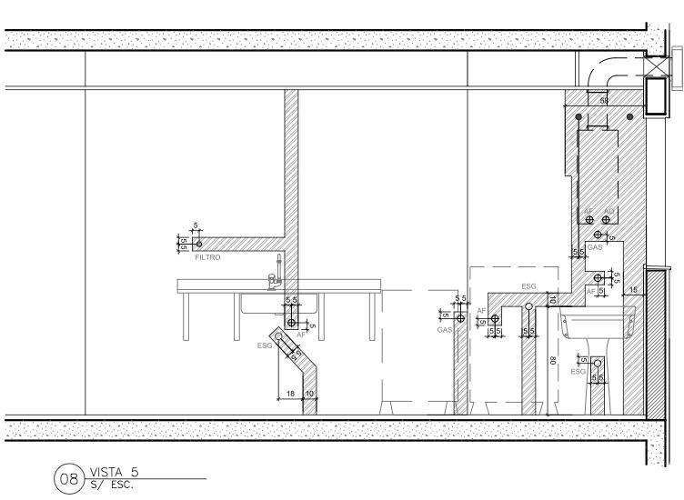 Hidraulica Para Banheiro : Cozinha planta hidraulica water systems