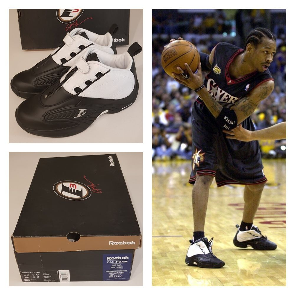 0b4004096e6e30 REEBOK THE ANSWER IV STEPOVER ALLEN IVERSON 4 SNEAKERS BASKETBALL SHOES OG  NBA  Reebok  BasketballShoes