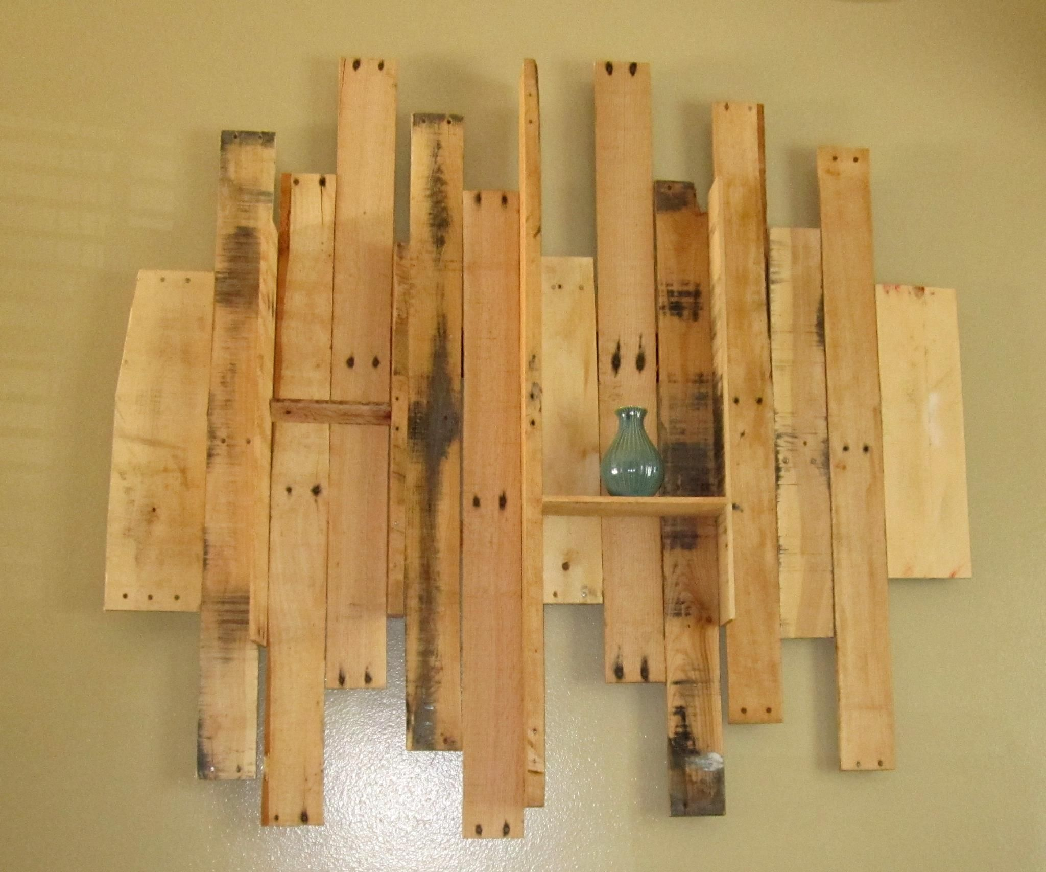 pallet wall art made by my talented brother in law on pallet wall id=47190