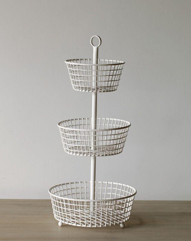 3 Tier Wire Basket Wire Wonderland Wire Baskets Basket Kitchen