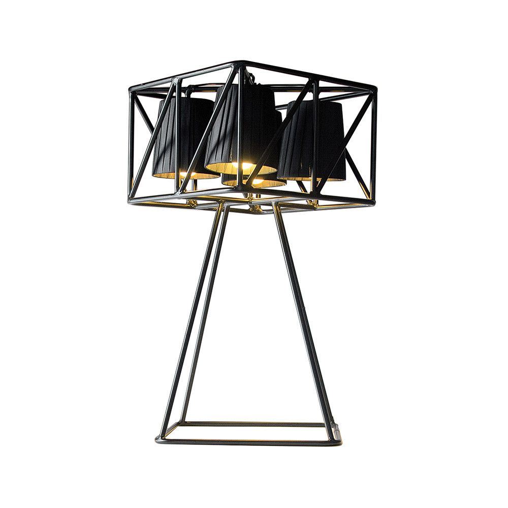 360 multi lamp metal table lamp black from seletti 360 multi lamp metal table lamp black from seletti geotapseo Image collections