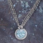 Michal's Aquamarine Necklace