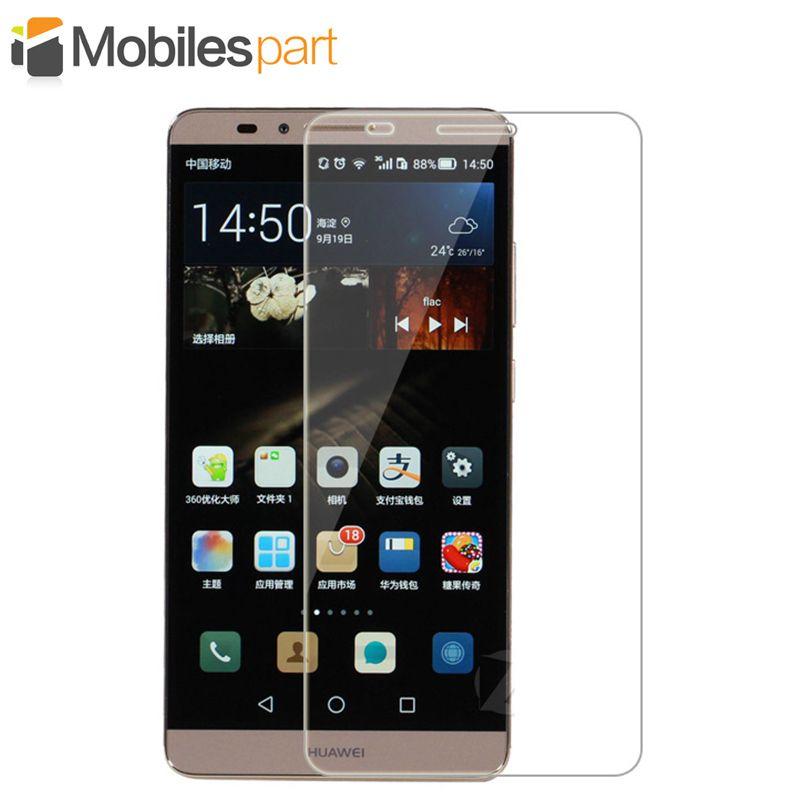 Vetro temperato per huawei honor 7 100% originale di alta qualità della protezione dello schermo per huawei honor 7 smartphone spedizione gratuita