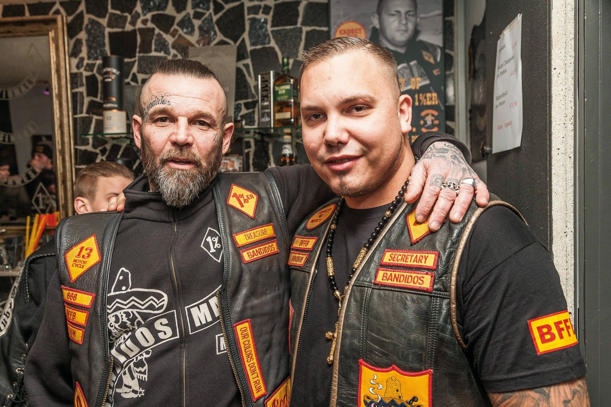 Bandidos MC Bochum | Bandidos MC | Motorcycle clubs, Biker clubs et