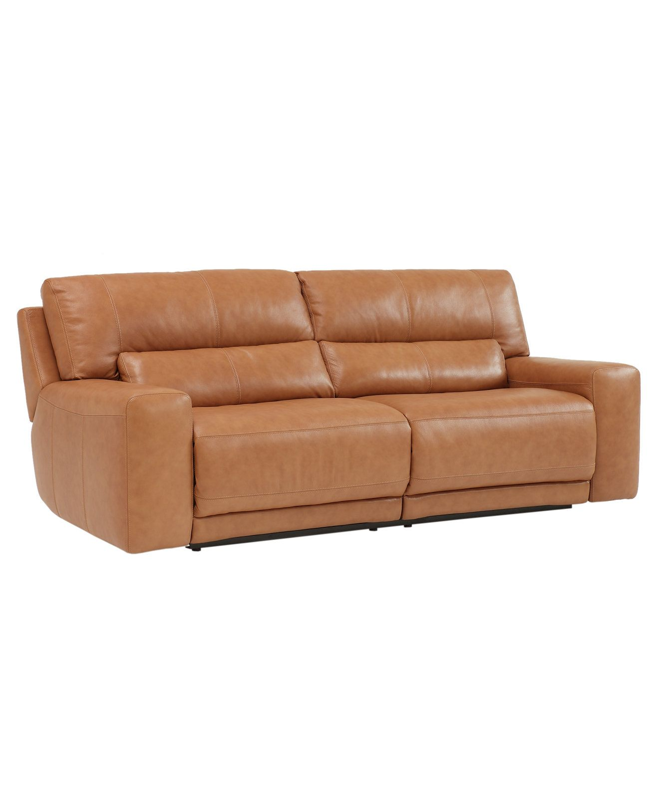 Paolo Sofa Double Reclining Couches & Sofas Furniture Macy s