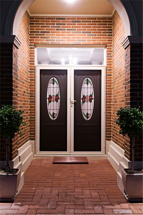 Strong Security Doors