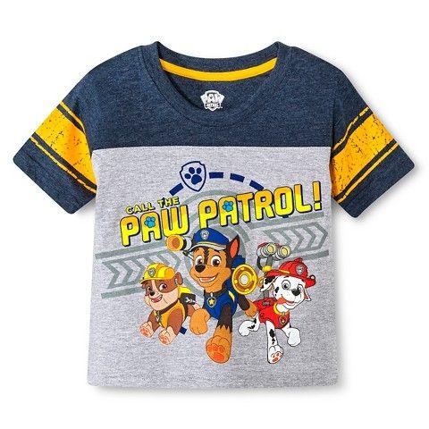 Toddler Boys Paw Patrol Tee Shirt Gray Little Boy Outfits Kids Fashion Boy Toddler Boy Outfits