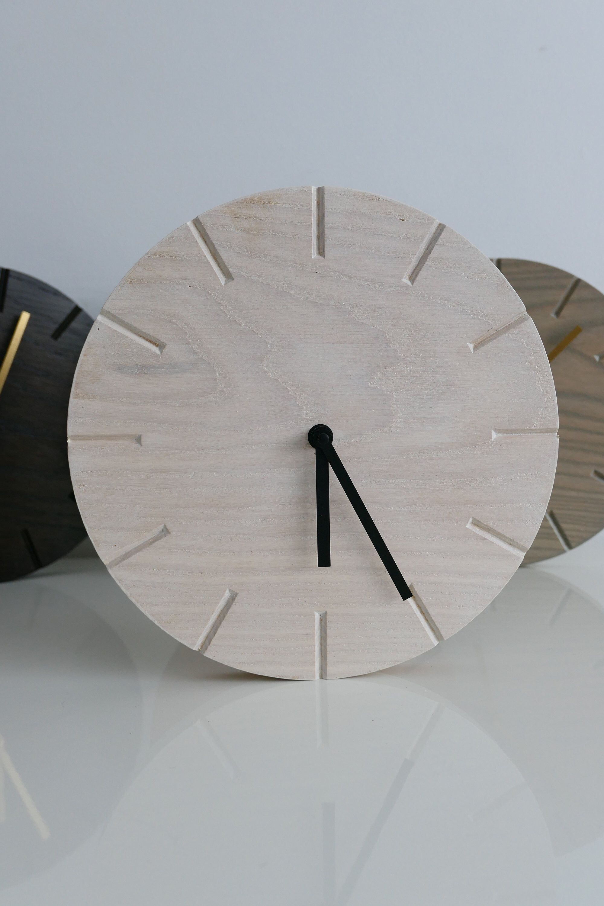 Pin by dchamp designs on Modern clocks | Minimalist clocks