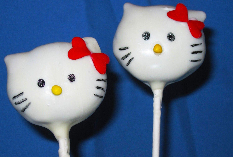 Hello kitty cake pops 1 dozen valentines day wedding