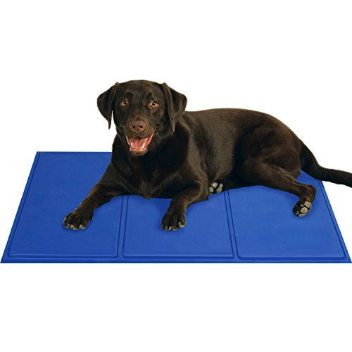 Gocooper Dogs Self Cooling Gel Mat Pads Pet Cat Cool Beds 36 X 20 For Dog Crates Kennels And Beds Click Image To Review Dog Crate Dog Bed Mat Dog Crate Bed
