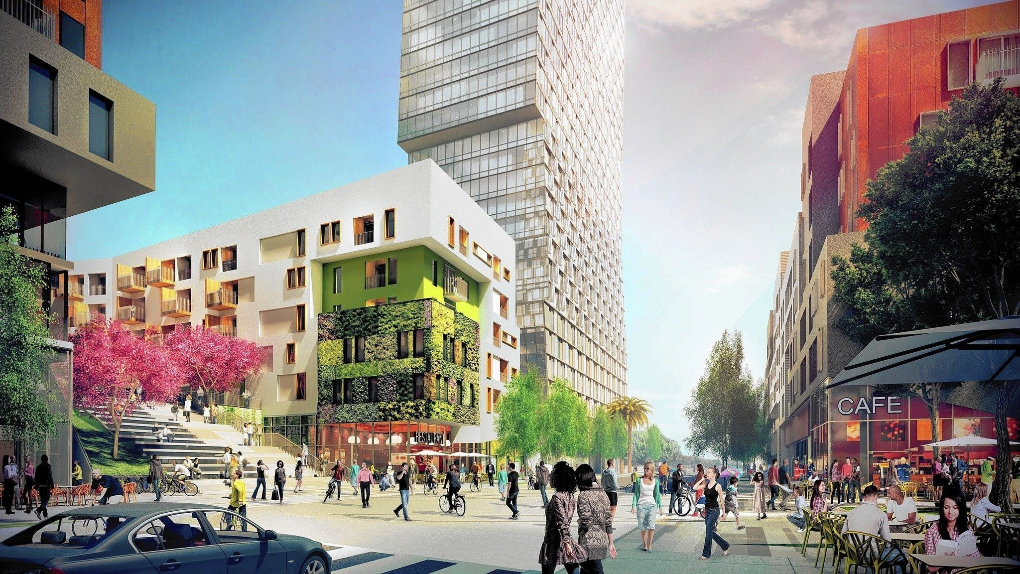 A 1 Billion Residential Hotel And Retail Complex Is Being Planned South Of The 10 Freeway In Downtown Los Angeles As Robust Development Promises To Spread