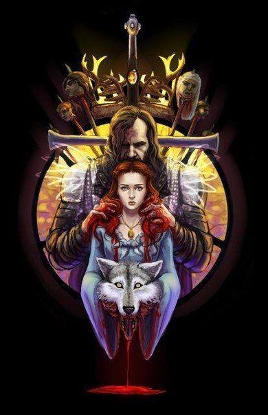 Sandor Clegane Sansa Stark The Games Of Thrones Fogo E Gelo