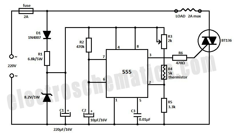 controller of solar charger circuit diagram
