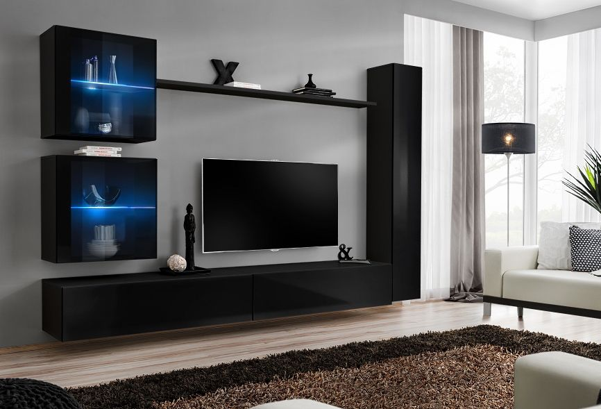 Pin On Modern Wall Units Entertainment Centers Tv