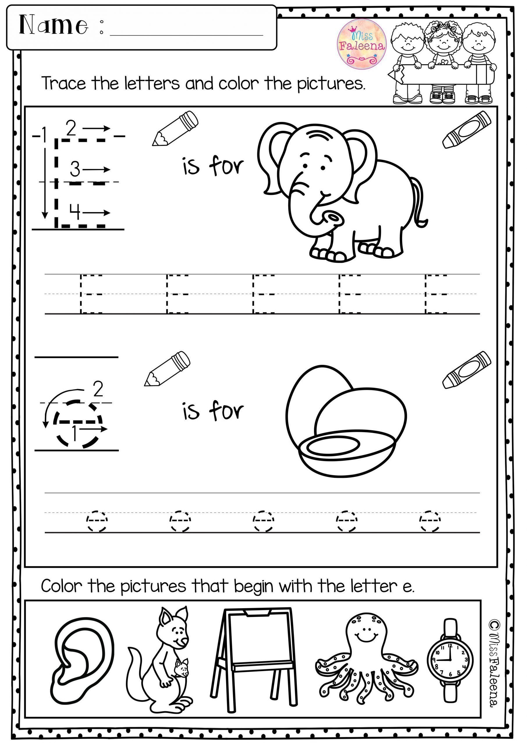 Morning Worksheets For Kindergarten Kindergarten Morning
