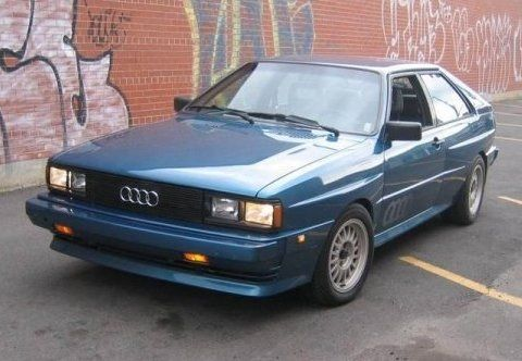 Rare & Clean 1984 Audi Ur-Quattro Coupe