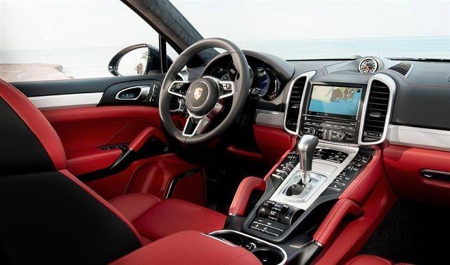 2017 Porsche Macan Interior Cars Dream