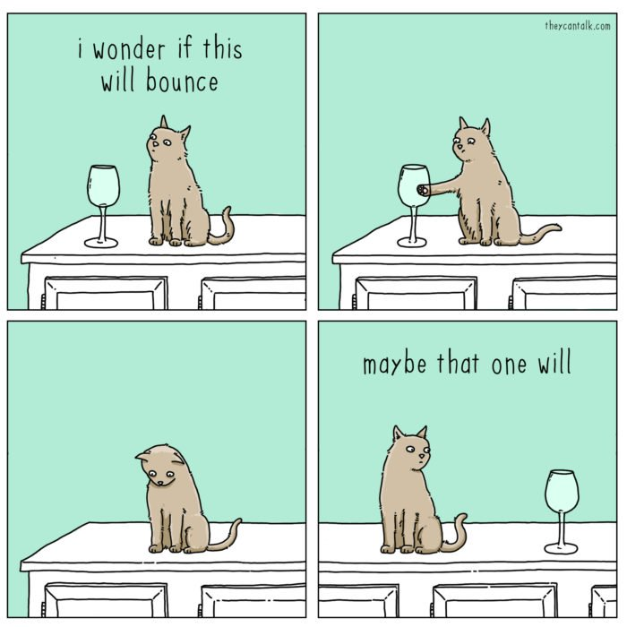 9 Funny Cat Cartoons That Every Cat Lover Will Appreciate In 2020