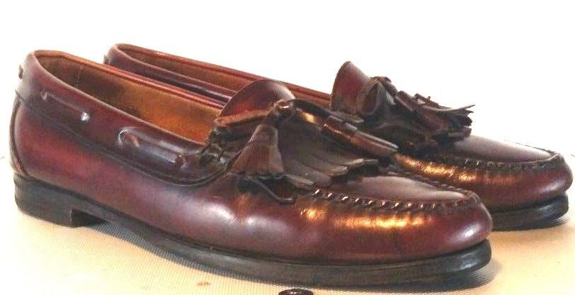 e50d20456cd Vintage Cole Haan Brown Leather Kiltie Tassel Loafers Men 11D Made In USA   fashion  clothing  shoes  accessories  mensshoes  dressshoes (ebay link)