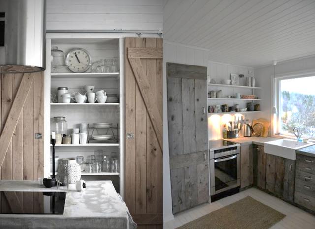 15 inspirations pour recycler une porte ancienne blog for Decoration cacher une porte