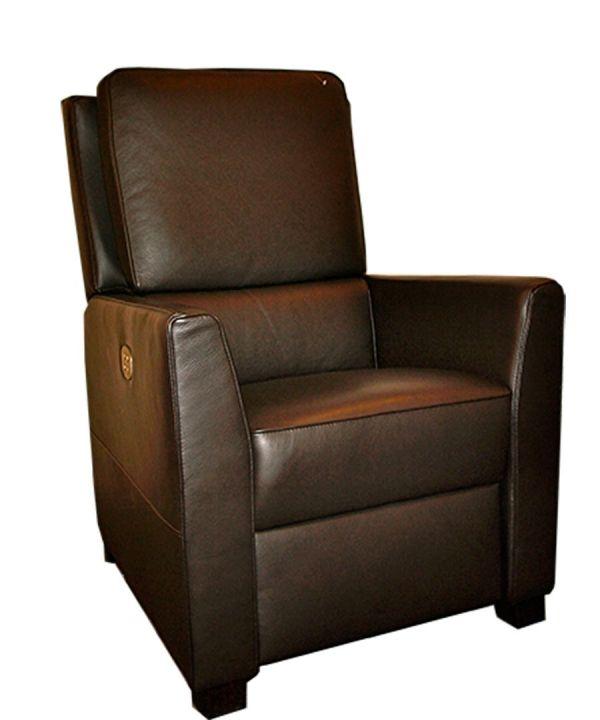 Relaxfauteuil Leder Elektrisch.Relaxfauteuil Veran Mecam Direct Leverbaar Kleur Leder Zwart