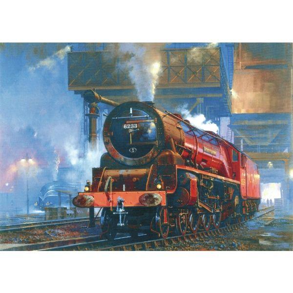 steam locomotive impact