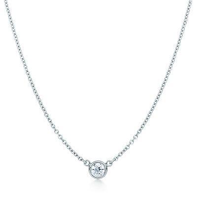 Tiffany co diamond solitaire necklace precious jewelry tiffany co diamond solitaire necklace aloadofball Gallery
