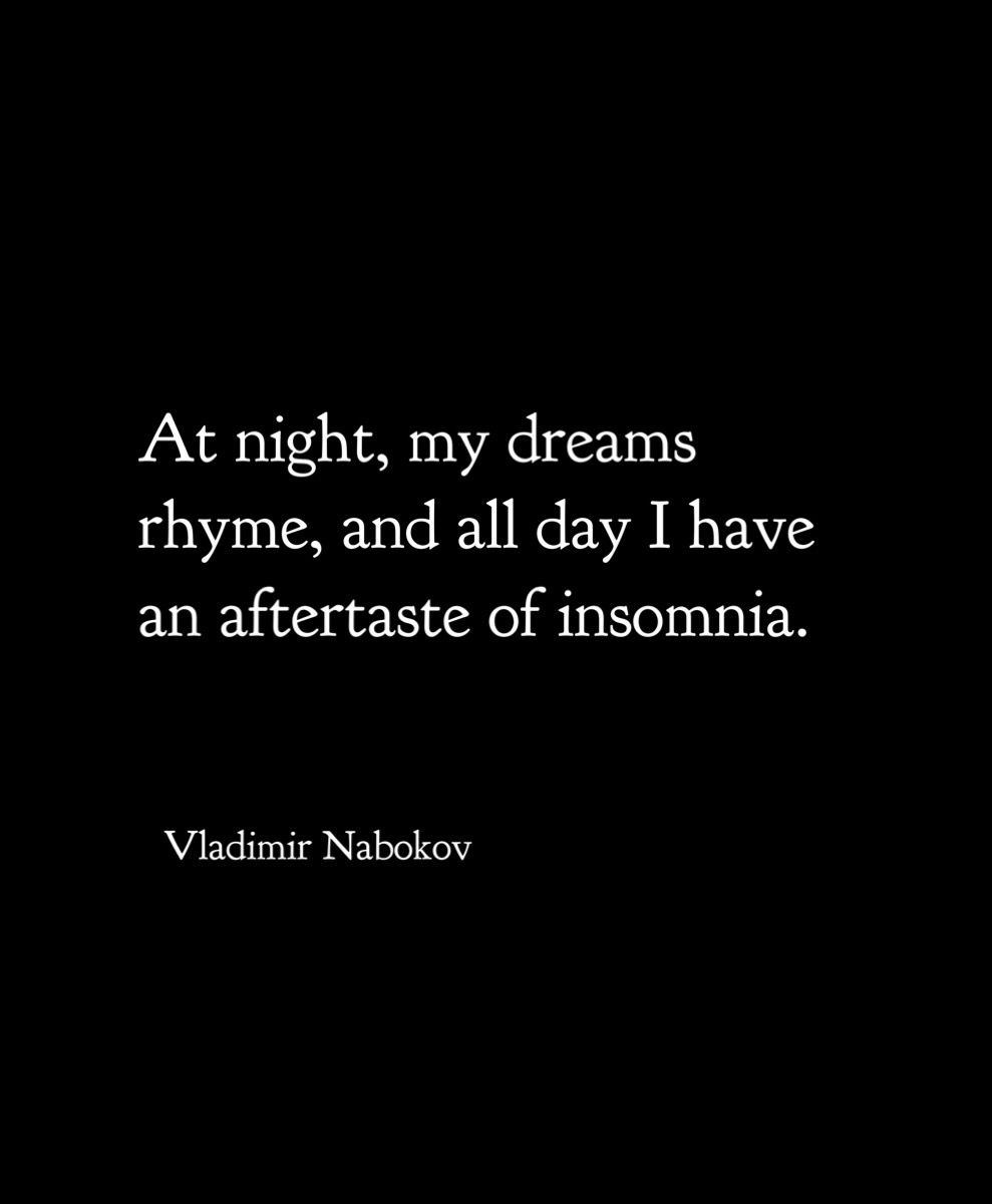Vladimir Nabokov From Letters To Vera Quotes And Sayings