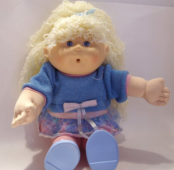 Cabbage Patch First Edition 1990 Doll By Hasbro Etsy Cabbage Patch Kids Cabbage Patch Dolls Patch Kids