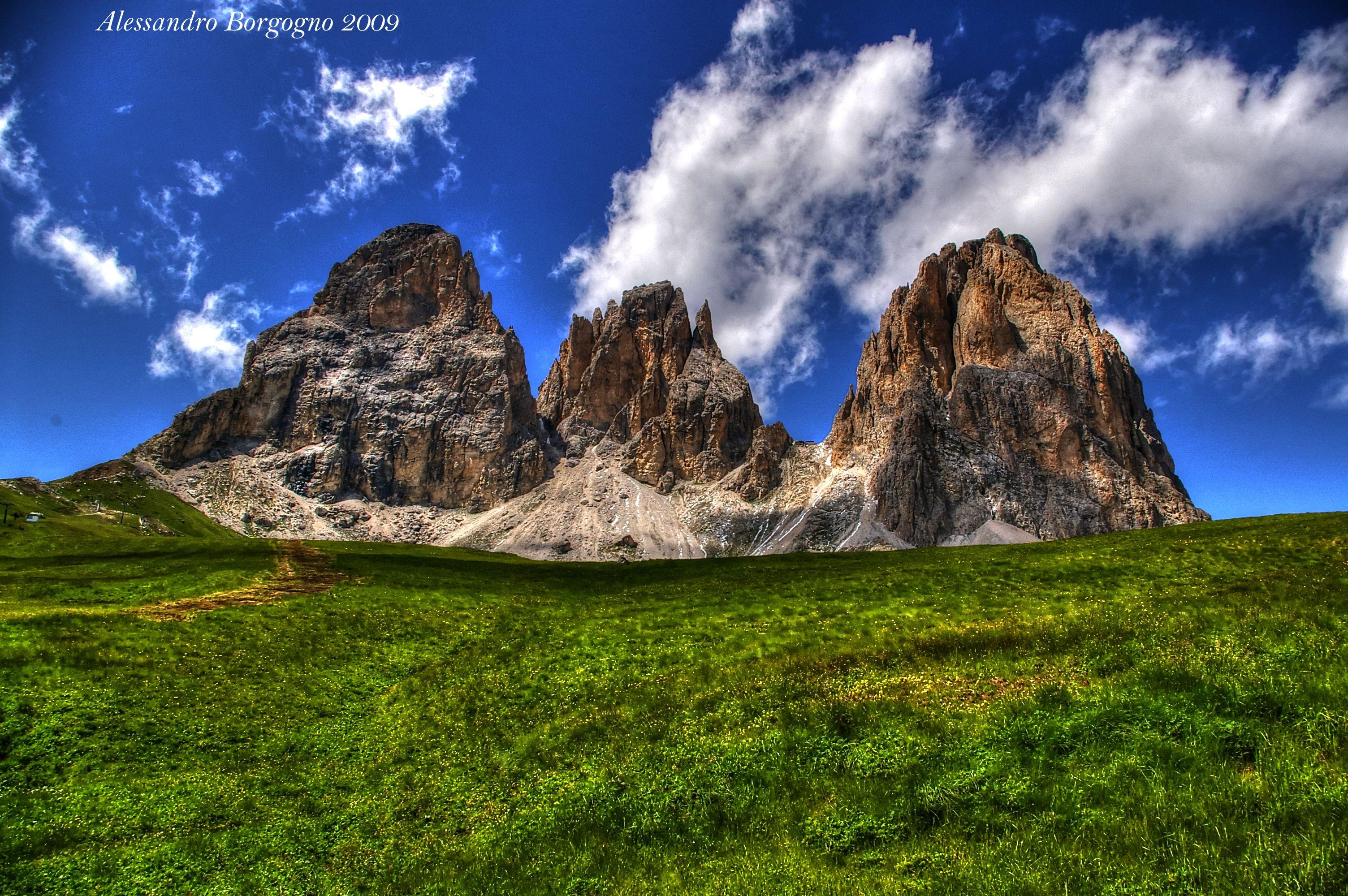 Sass Long Val di Fassa Italy / by Alessandro