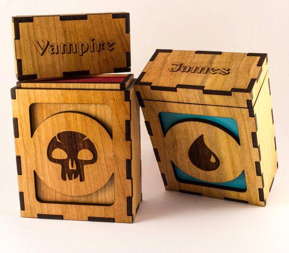 Mtgdragondeckboxbyarchimiedies Wants Deck Box Mtg Box