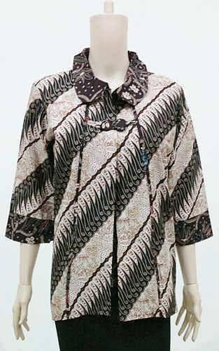 Model Baju Batik Kerja Kantor Ukuran Jumbo Big size  a22ba78854