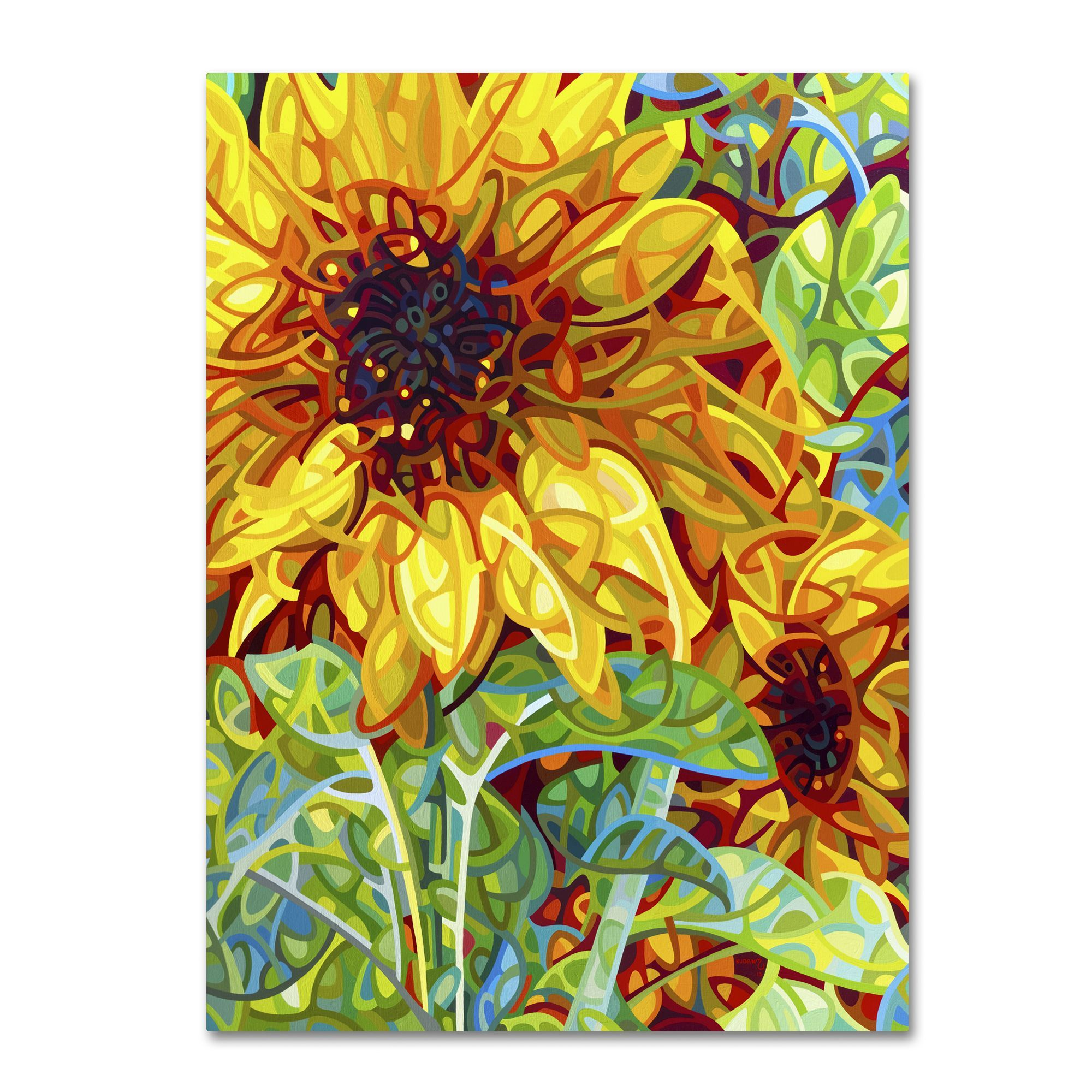 Mandy Budan \'Summer In The Garden\' Gallery Wrapped Canvas Art (35 x ...