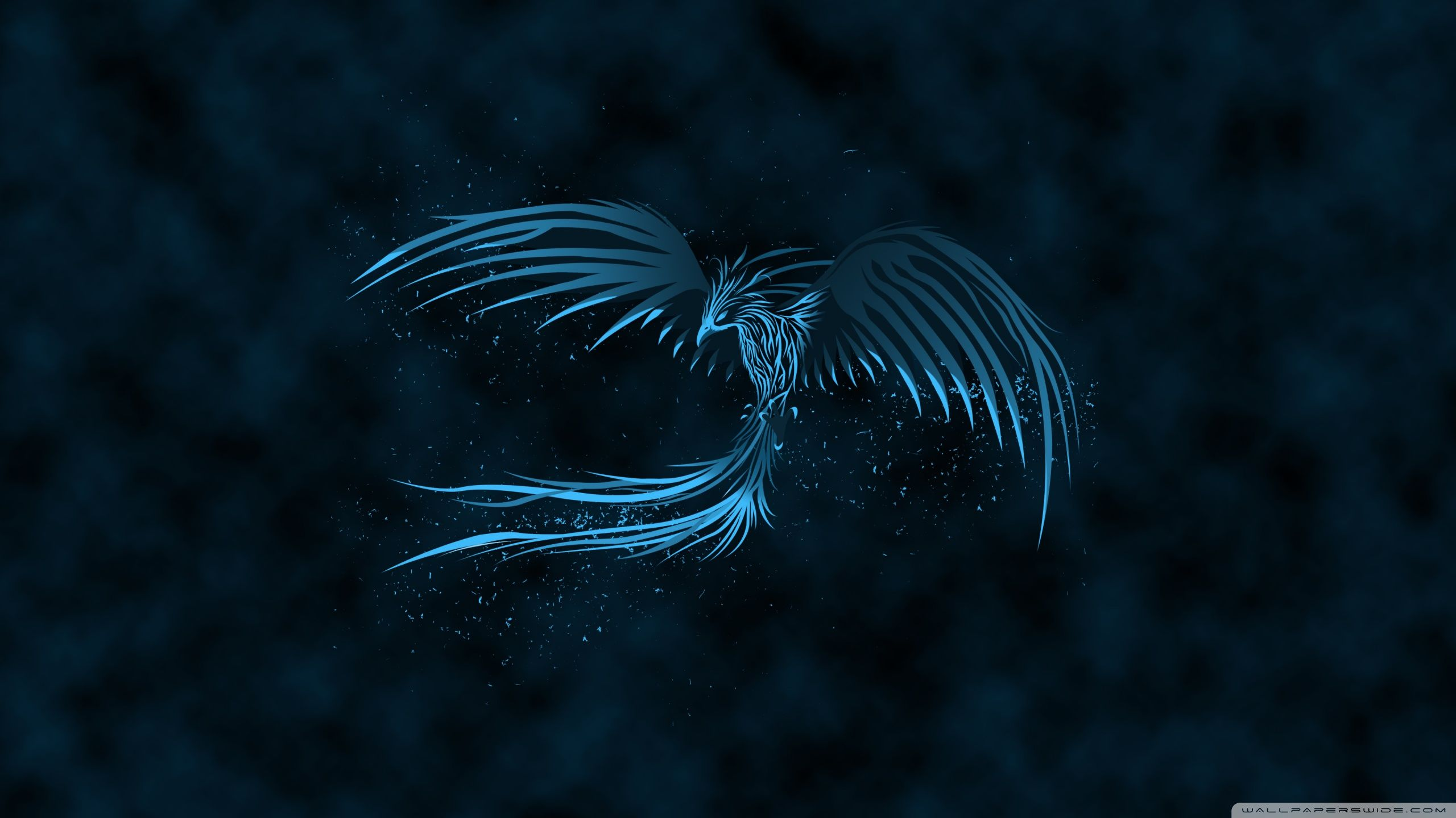Blue Phoenix HD desktop wallpaper Widescreen Mobile
