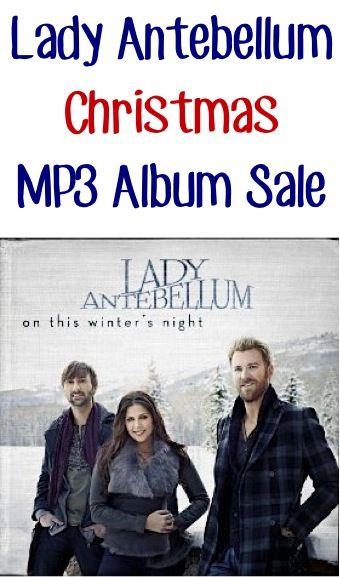 Lady Antebellum Christmas Album Sale: $5.99! | Lady antebellum, Album sales, Antebellum