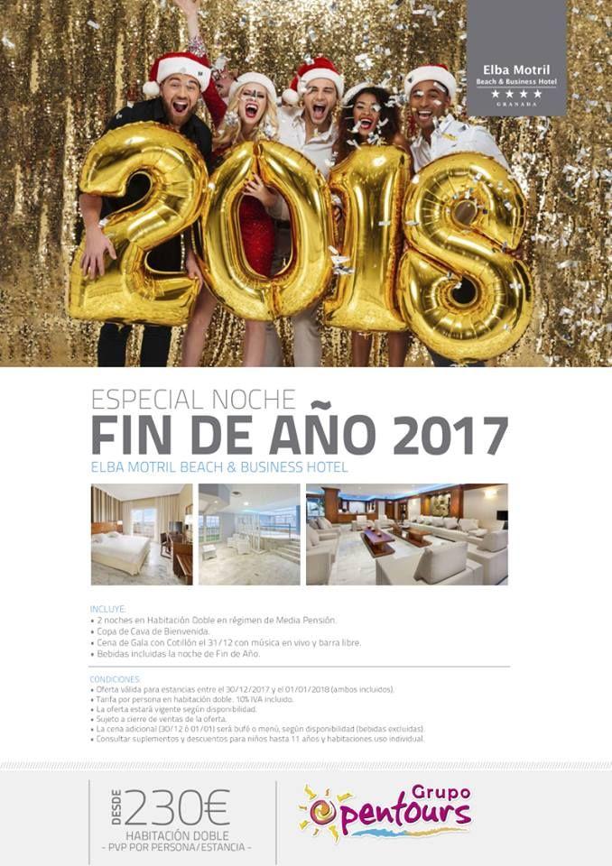 Hotel Elba Motril **** (Motril, Granada) Especial FIN DE AÑO, desde 230 € por persona Paquete de 2 noches - 30/12-01/01 #elbamotril #motril #granada #findeaño #nochevieja #paquetes #escapadas #ofertas #hoteles #agentesdeviajes #agenciasdeviajes #opentours #grupoopentours ------ Más info y condiciones generales de esta oferta en www.opentours.es