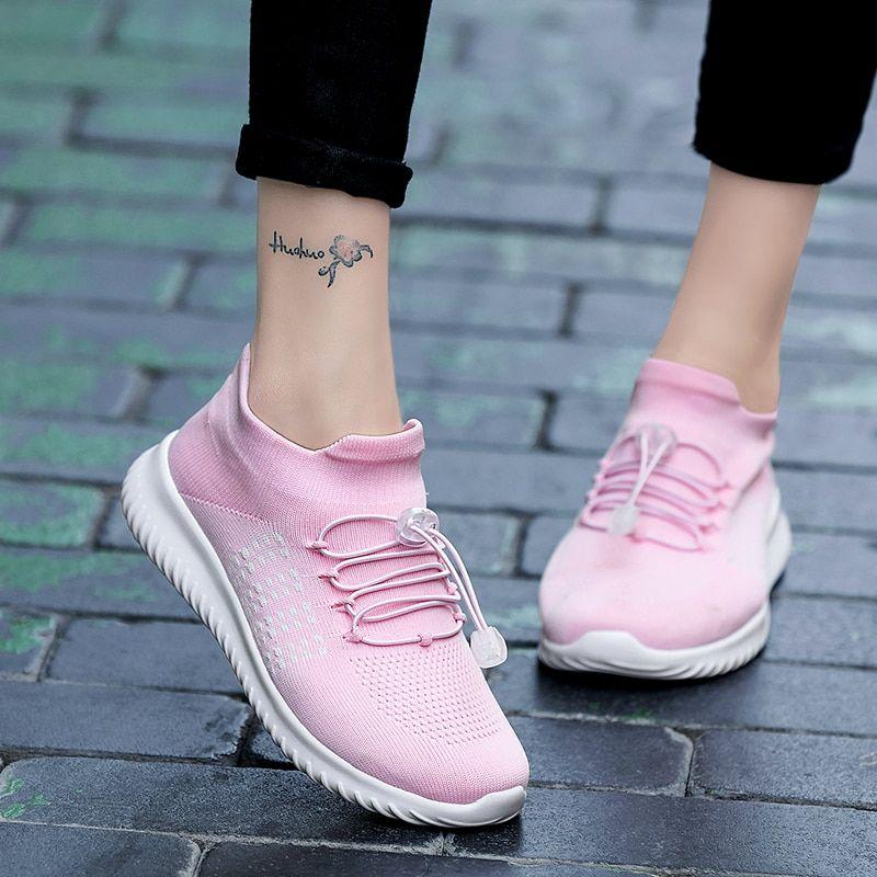 Frauen Socken Schuhe Turnschuhe Breathable Outdoor Mesh Walking laufen Mode