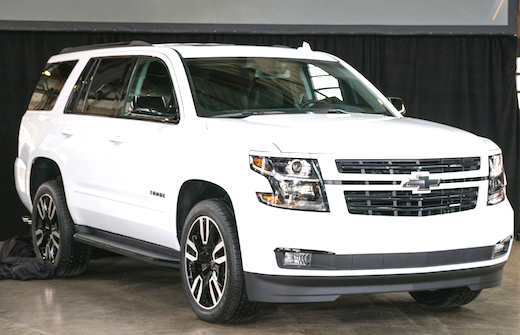 2018 Chevrolet Suburban Rst Edition Rst Will Be Accessible In