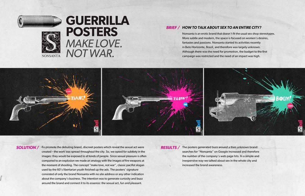 Nonsanta / Guerrila Posters - Pedro Reis › Art Director