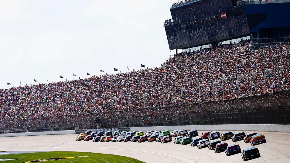 Head for the hills FOX Sports NASCAR television schedule