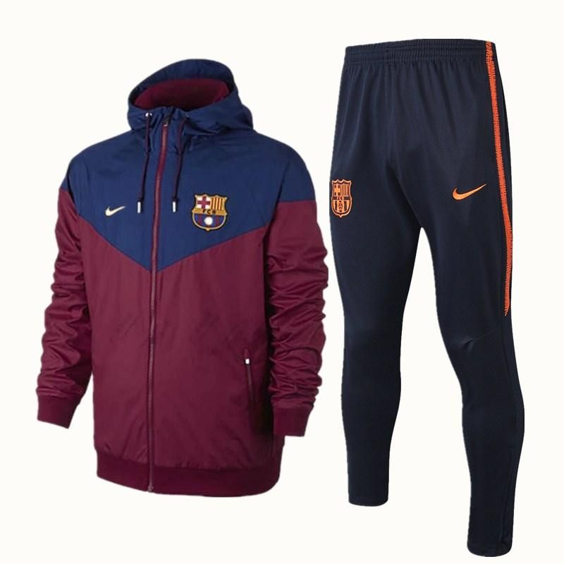 FC Barcelona Official Football Gift Boys Jacket /& Pants Tracksuit Set