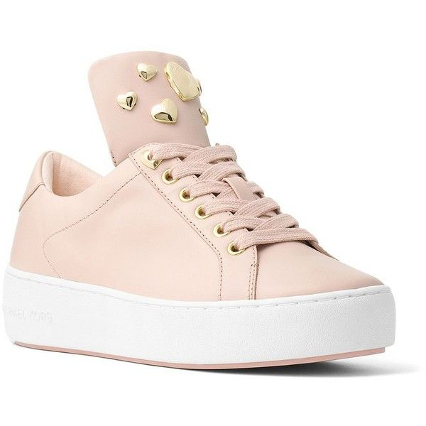 52e59d503c44 Michael Michael Kors Women s Mindy Lace-Up Leather Sneakers ( 135) ❤ liked  on