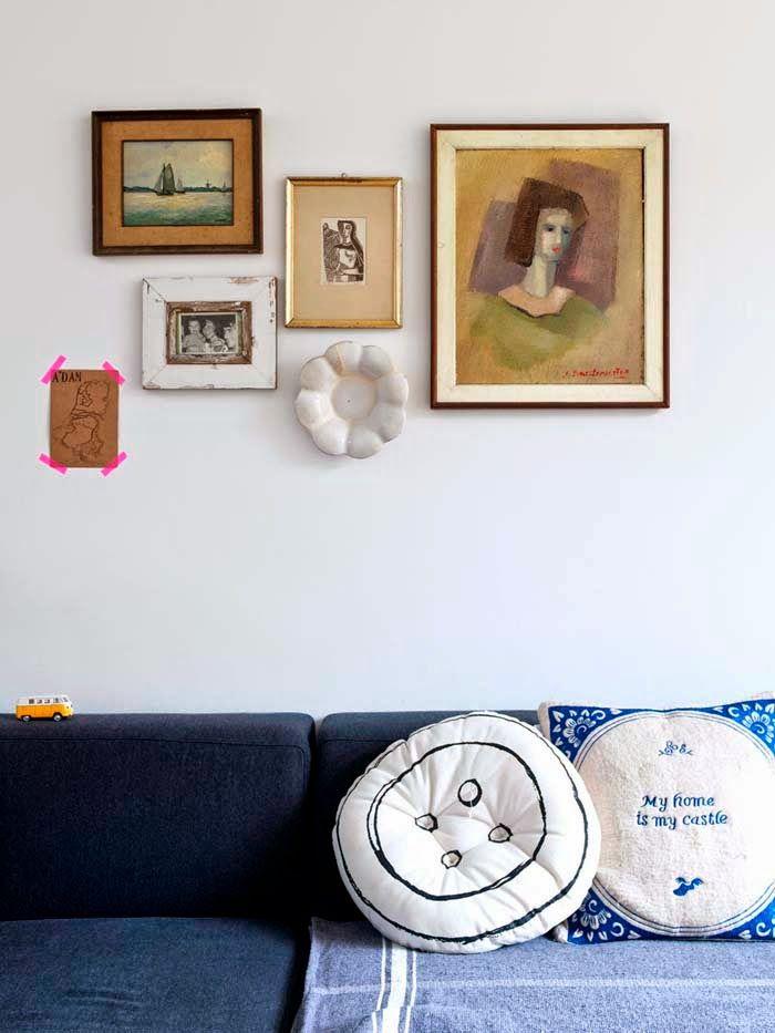 Keltainen talo rannalla: Vintagea, rustiikkista ja modernia