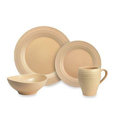Mikasa® Swirl Dinnerware in Tan  sc 1 st  Pinterest & Mikasa® Swirl Dinnerware in Tan - BedBathandBeyond.com | register ...
