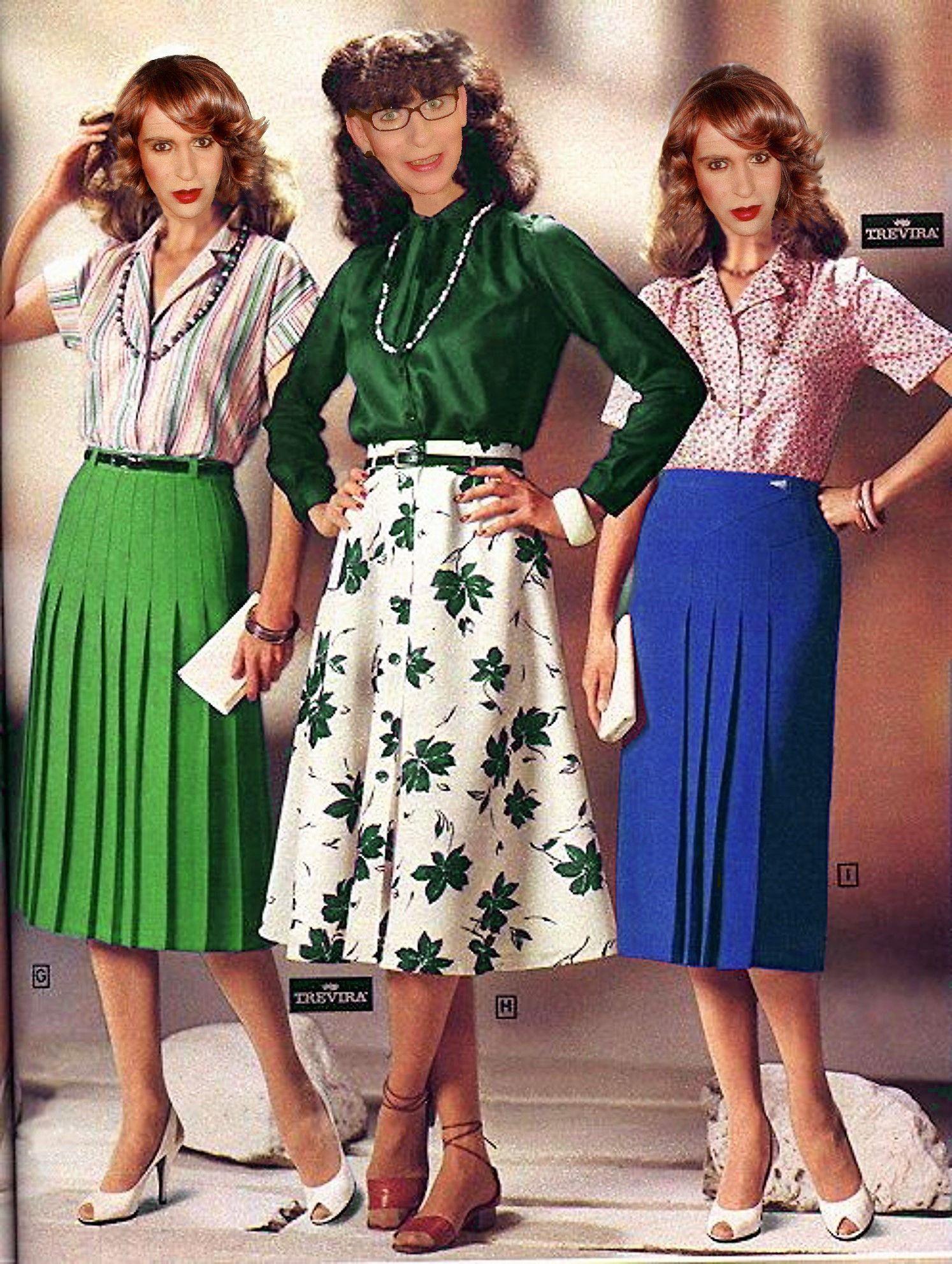 70ies Fashion 70ies Skirts 70er Jahre Mode 70er Jahre Rocke