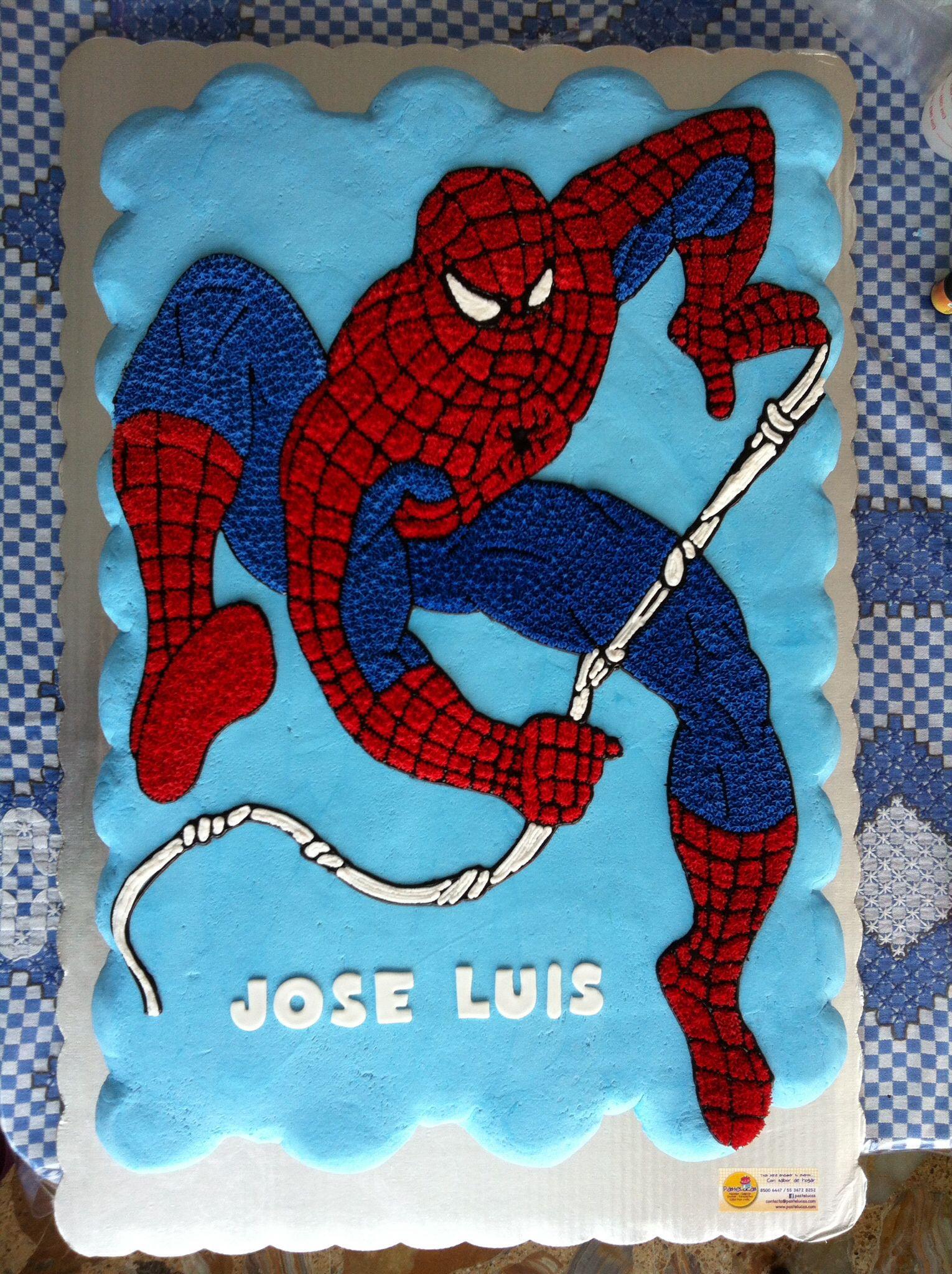 Spiderman cupcakes cake | D\'Cuisine Pull apart Cupcakes | Pinterest ...