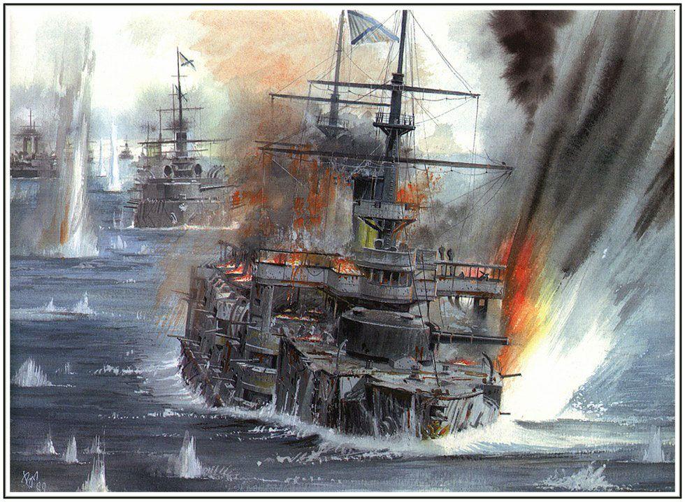 Tsushima Sea Battle - Imperial Russias Monumental Mistake (1905 ...