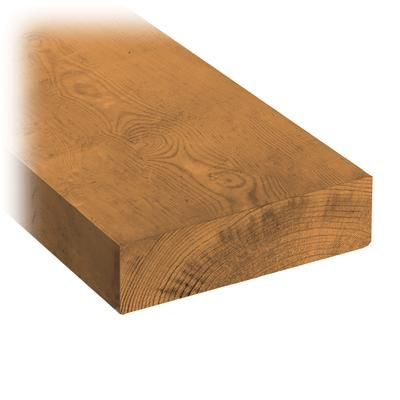 Micropro Sienna 2 X 6 X 10 Treated Wood Pn25020610 Home