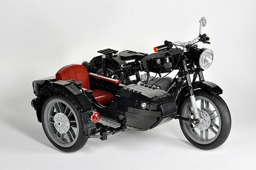lego technic bmw r60 sidecar two wheelers lego. Black Bedroom Furniture Sets. Home Design Ideas