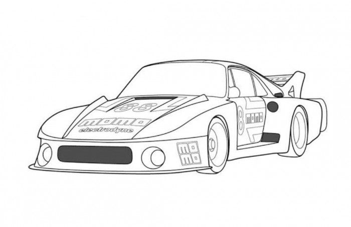 Jaguar Old Racing Car Coloring Page Free Online Cars Coloring Pages For Kids Cars Coloring Pages Online Cars Jaguar